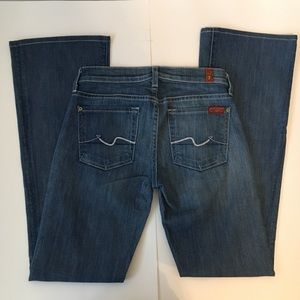 7 For All Mankind Bootcut Jeans Size 23